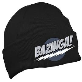 The Big Bang Theory (TV) - Bazinga! Black Knit Hat