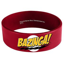 The Big Bang Theory (TV) - Bazinga Rubber Bracelet