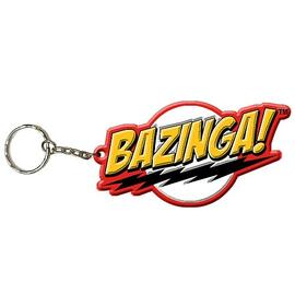 The Big Bang Theory (TV) - Bazinga! Rubber Key Chain