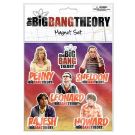 The Big Bang Theory (TV) - Flat Magnets