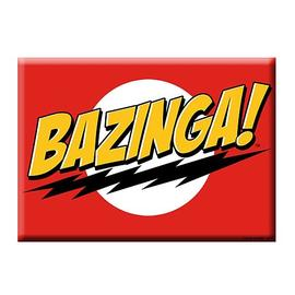 The Big Bang Theory (TV) - Bazinga Magnet
