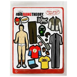 The Big Bang Theory (TV) - Sheldon Cooper Dress-Up Magnet Set