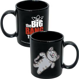 The Big Bang Theory (TV) - Soft Kitty Black Coffee Mug