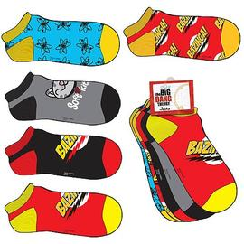 The Big Bang Theory (TV) - Bazinga! Socks 5-Pack Set