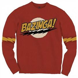 The Big Bang Theory (TV) - Bazinga Knit Sweatshirt