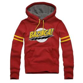 The Big Bang Theory (TV) - Comic Lightning Bolts Bazinga Hoodie