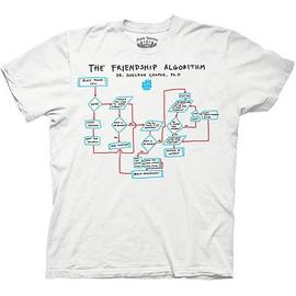 The Big Bang Theory (TV) - The Friendship Algorithm T-Shirt