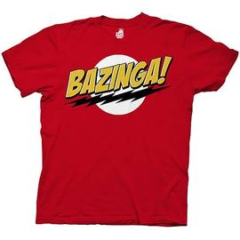 The Big Bang Theory (TV) - Bazinga Red T-Shirt