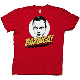 The Big Bang Theory (TV) - The Sheldon Cooper Bazinga T-Shirt