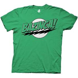 The Big Bang Theory (TV) - Bazinga! Green T-Shirt