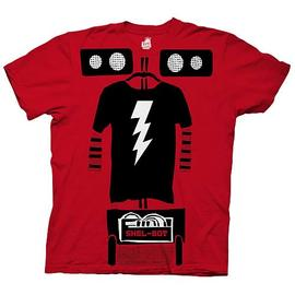 The Big Bang Theory (TV) - Shel-Bot Trompe Loeil Red T-Shirt