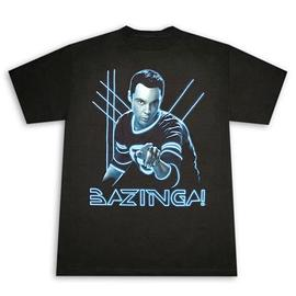 The Big Bang Theory (TV) - Sheldon Glow Bazinga T-Shirt