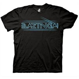 The Big Bang Theory (TV) - Bazinga Tron Type T-Shirt
