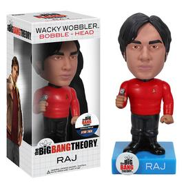 The Big Bang Theory (TV) - Star Trek Raj Bobble Head