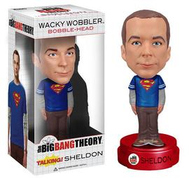 The Big Bang Theory (TV) - Talking Sheldon Cooper Bobble Head