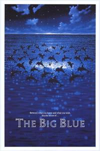 The Big Blue - 11 x 17 Movie Poster - Style B
