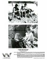 The Big Blue - 8 x 10 B&W Photo #4