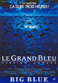 The Big Blue - 11 x 17 Movie Poster - Belgian Style A