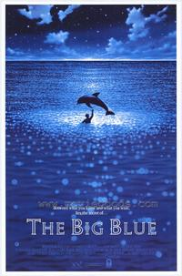 The Big Blue - Movie Poster - 26 x 38 - Style A