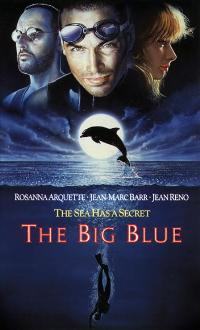 The Big Blue - 11 x 17 Movie Poster - Style E