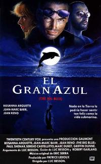 The Big Blue - 27 x 40 Movie Poster - Spanish Style B