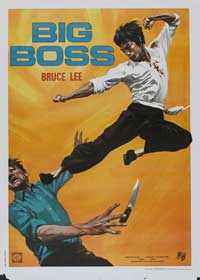 The Big Boss - 27 x 40 Movie Poster - Italian Style A