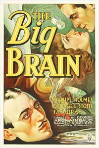 The Big Brain - 11 x 17 Movie Poster - Style A