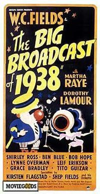 The Big Broadcast of 1938 - 11 x 17 Movie Poster - Style A