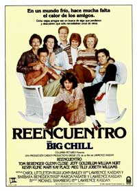 The Big Chill - 11 x 17 Movie Poster - Spanish Style B