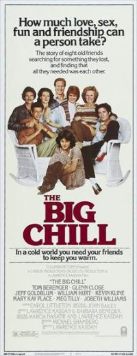 The Big Chill - 14 x 36 Movie Poster - Insert Style A