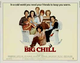 The Big Chill - 22 x 28 Movie Poster - Half Sheet Style A