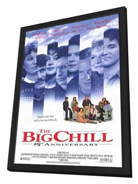 The Big Chill - 11 x 17 Movie Poster - Style B - in Deluxe Wood Frame