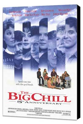 The Big Chill - 11 x 17 Movie Poster - Style B - Museum Wrapped Canvas