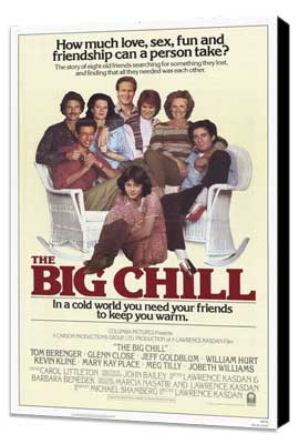 The Big Chill - 11 x 17 Movie Poster - Style C - Museum Wrapped Canvas