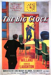 The Big Clock - 43 x 62 Movie Poster - Bus Shelter Style A