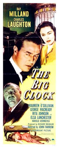 The Big Clock - 14 x 36 Movie Poster - Insert Style A