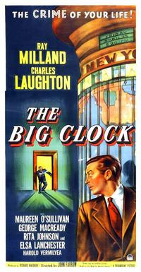 The Big Clock - 14 x 36 Movie Poster - Insert Style B