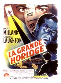 The Big Clock - 11 x 17 Movie Poster - French Style B