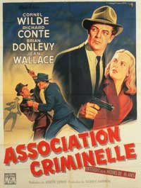 Big Combo - 11 x 17 Movie Poster - French Style A