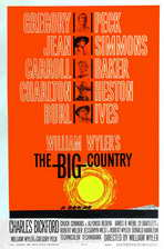 The Big Country - 27 x 40 Movie Poster - Style B