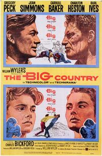 The Big Country - 11 x 17 Movie Poster - Style A