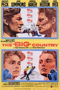 The Big Country - 27 x 40 Movie Poster - Style A
