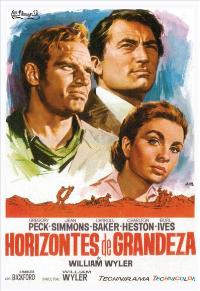 The Big Country - 27 x 40 Movie Poster - Spanish Style A