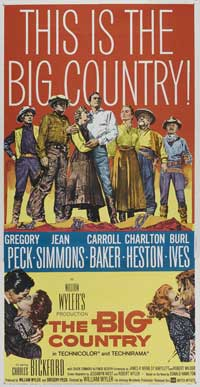The Big Country - 20 x 40 Movie Poster - Style A
