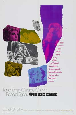 The Big Cube - 27 x 40 Movie Poster - Style B