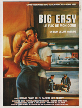 The Big Easy - 11 x 17 Movie Poster - French Style A