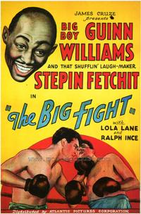 The Big Fight - 43 x 62 Movie Poster - Bus Shelter Style A
