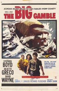 The Big Gamble - 27 x 40 Movie Poster - Style A