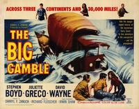The Big Gamble - 22 x 28 Movie Poster - Half Sheet Style A