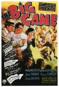The Big Game - 27 x 40 Movie Poster - Style A